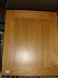 Solid Oak Shaker Style kitchen door and drawer front 500mm x 7