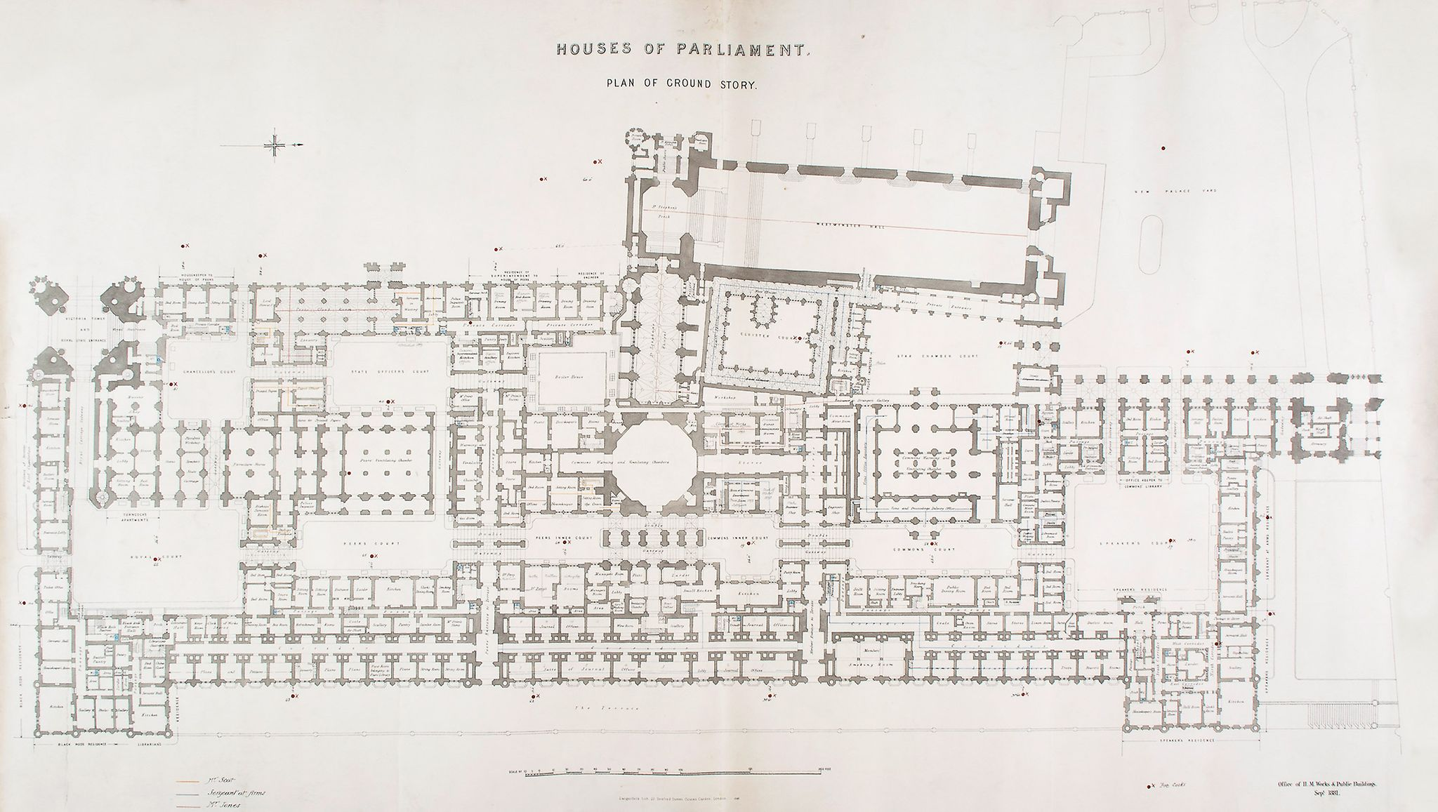 Floor Plan Of The Houses Parliament