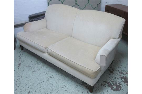 kingcome sofa sale leather repair kit for howard style with oatmeal upholstery 186cm l auction date