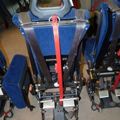 Wheelchair Seat Belt Steelcase Cobi Chair Nmi Combined Seating Systems Safety