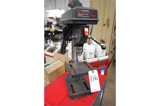 Craftsman 8 Drill Press Review