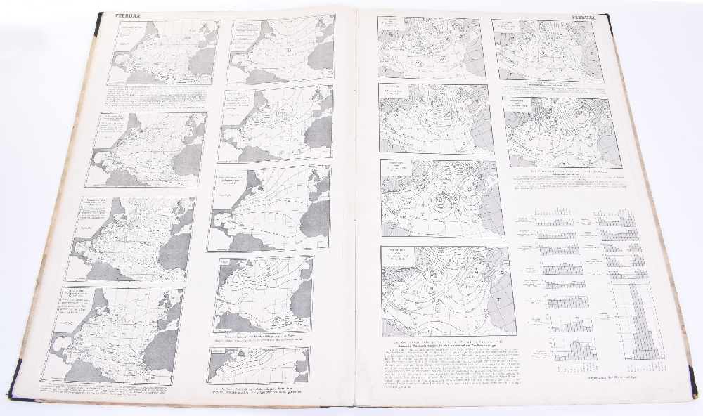 Kriegsmarine Monthly Maps & Weather Charts for the North