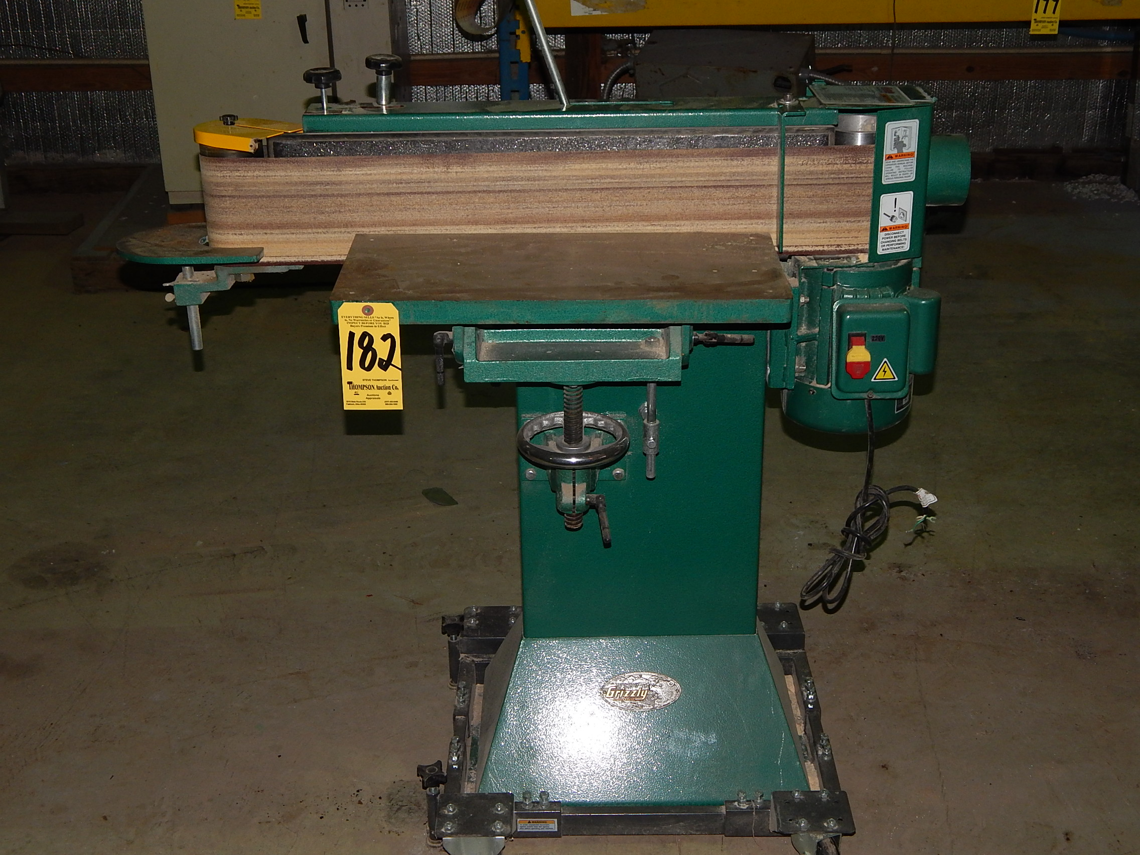 Grizzly Edge Sander