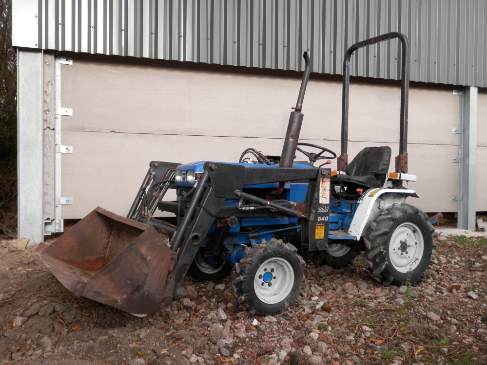 medium resolution of lot 90 ford 1220 mini tractor running working driving