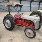 1950 Ford 8n An 4cylinder Petrol Paraffin Tractor Reg No 230 Xug Serial No 266832 The 8n Ford