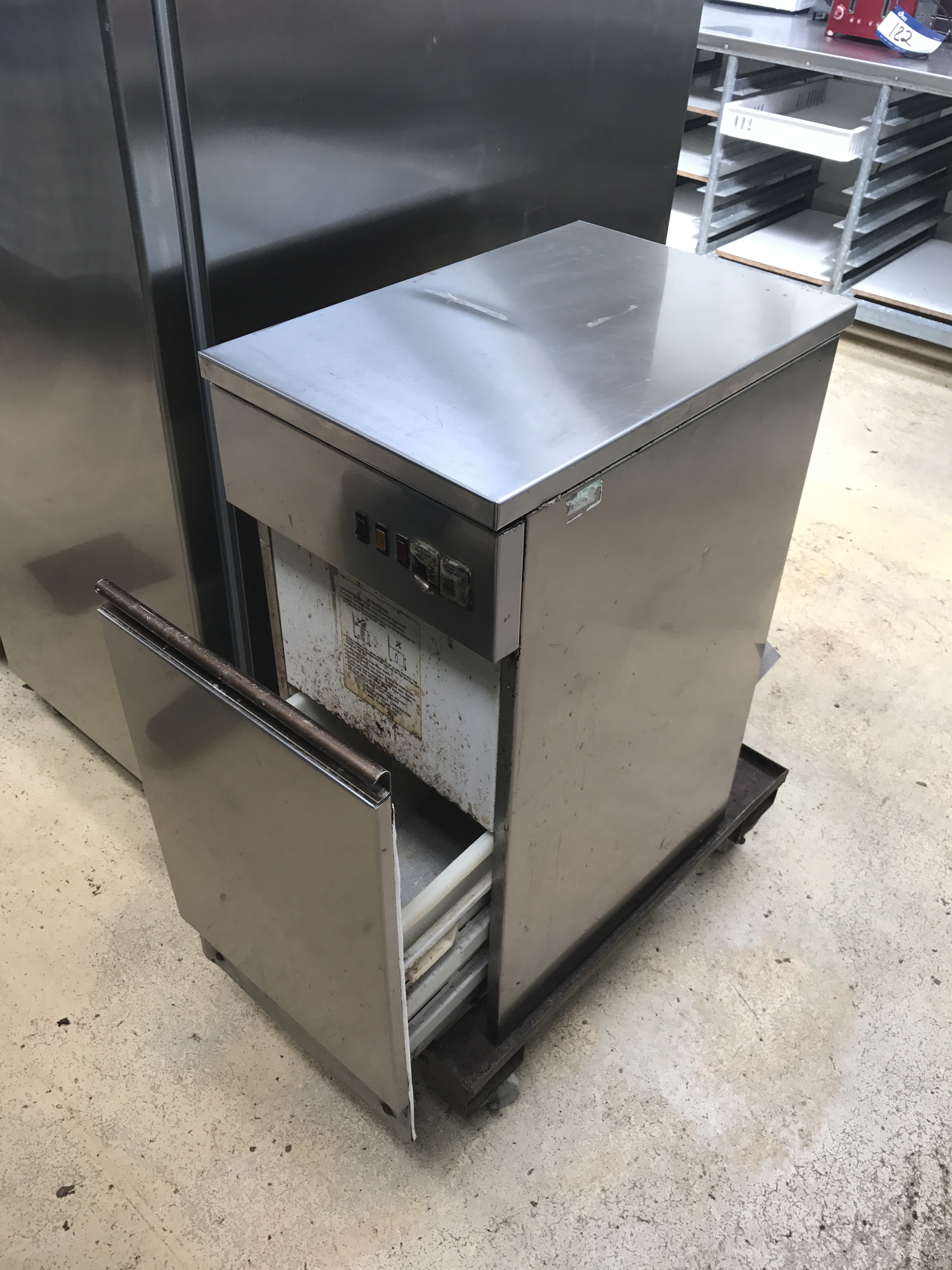 kitchen trash compactor rooms to go sets pakmaster stainless steel waste lift