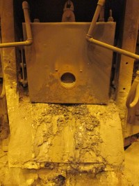 ELECTROMELT 50 TON ARC FURNACE EXAUST DUCT ,WATER COOLED ...