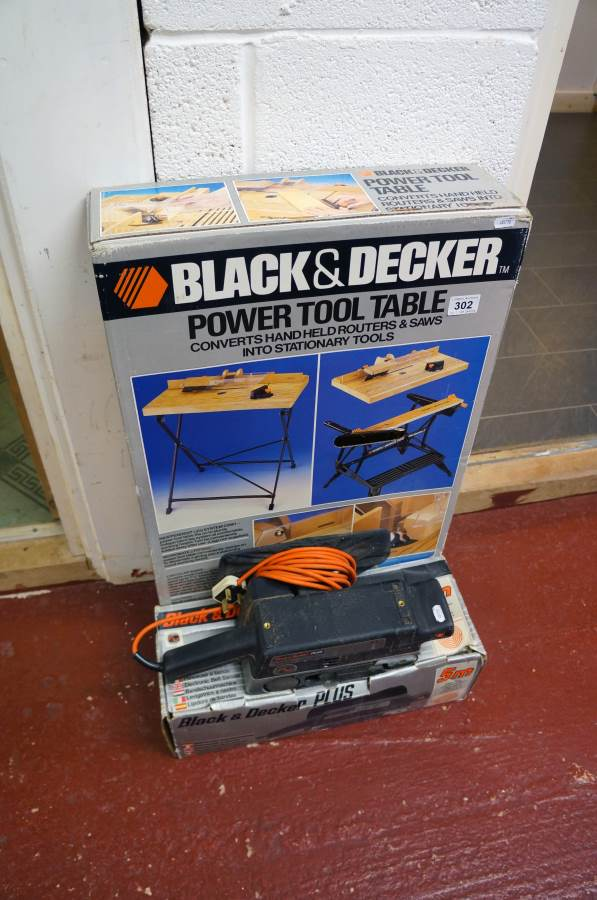 Black And Decker Power Tool Table