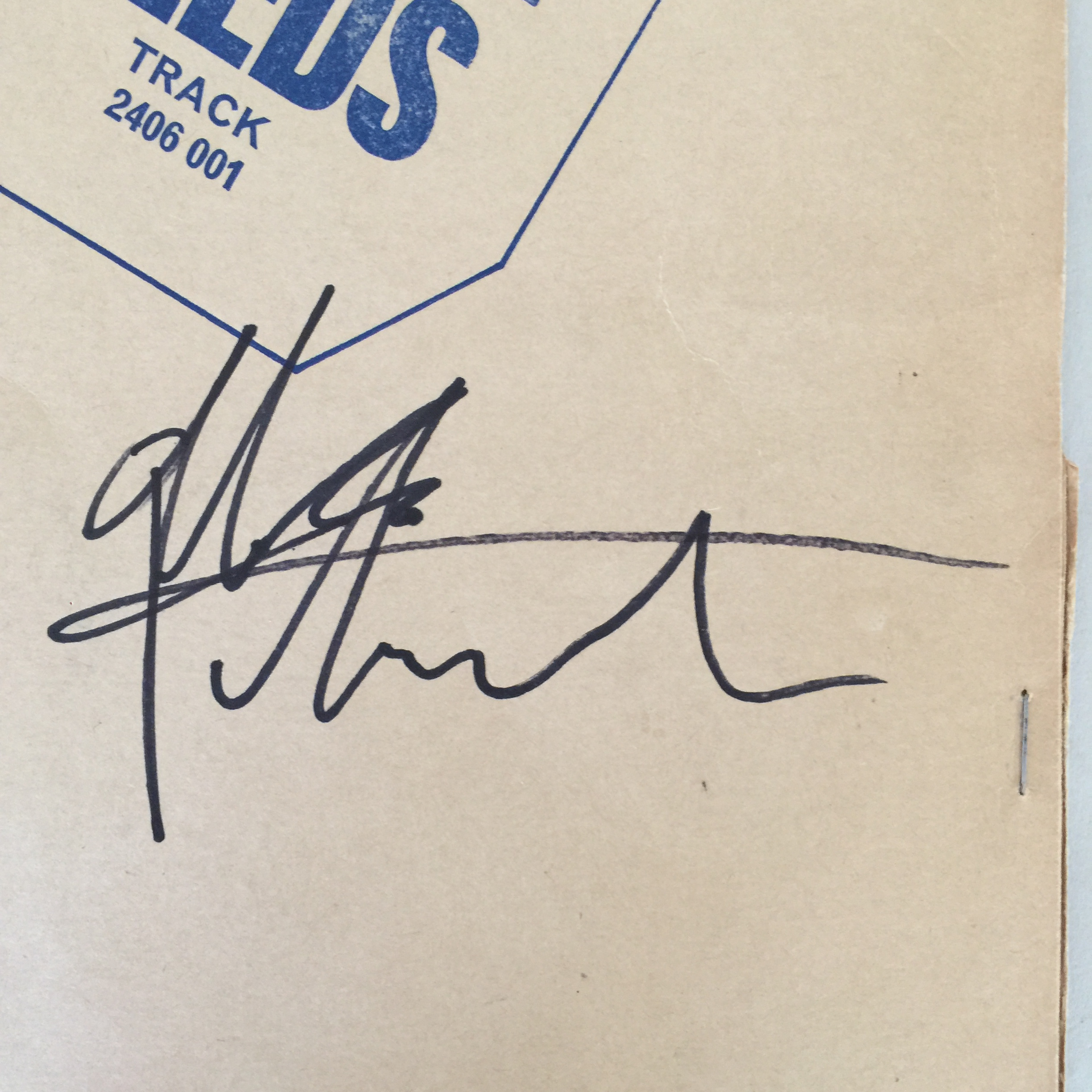 THE WHO SIGNED JOHN ENTWISTLE/PETE TOWNSHEND. A copy of The Who's - Live at Leeds (TRACK 2406 001