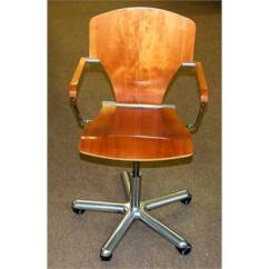 Swivel Chair In Spanish Office Chairs For Tall Man Metal And Wood Desk Egoa Stua