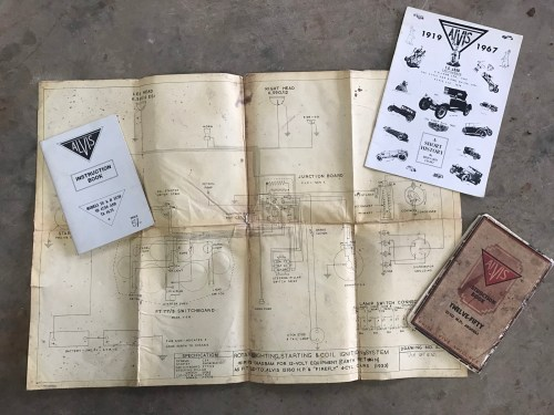 small resolution of lot 1141 an alvis instruction book an alvis 12 60 firefly wiring diagram
