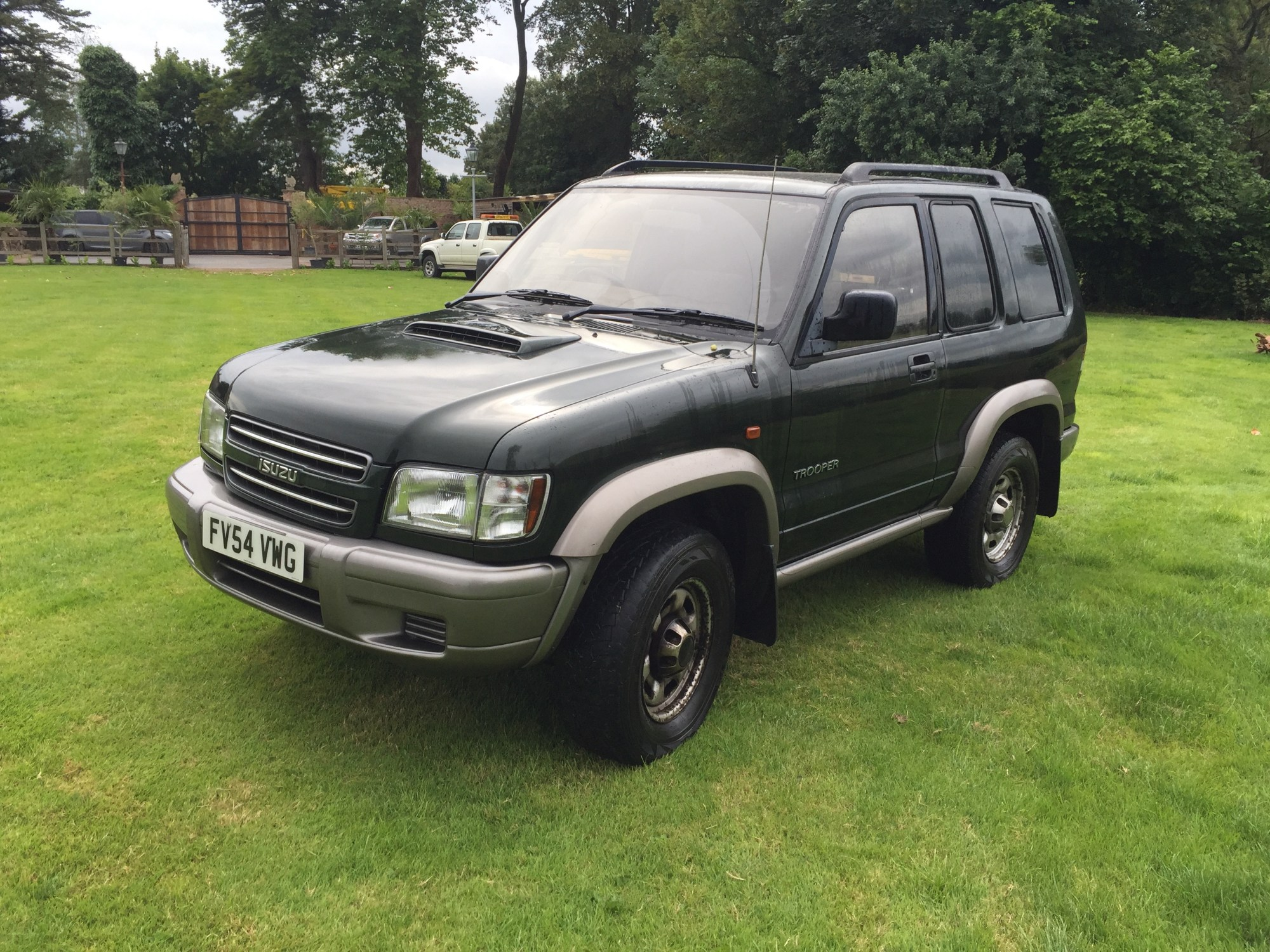 hight resolution of lotto 73 2005 isuzu trooper commercial 3 0l turbo diesel 4x4 no vat one