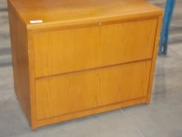 "STEELCASE DESIGNS IN WOOD 36"" 2 DRAWER LEGAL OR LETTER ..."