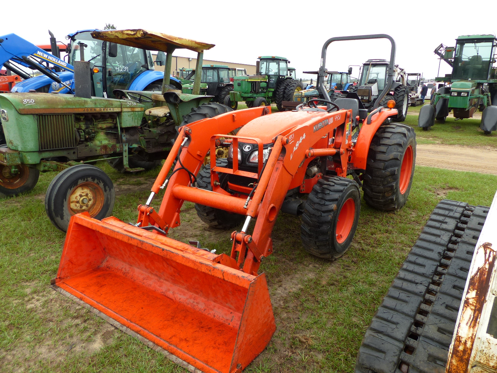 hight resolution of  kubota l245dt 4wd repair manual id 4451 kubota mx5100 tractor open