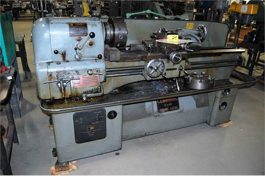 Clausing Colchester Lathe 15