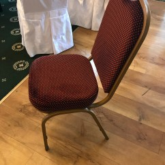 Function Accessories Chair Covers Swivel Slipcover 150 Chairs Come With White Non Stretch Red