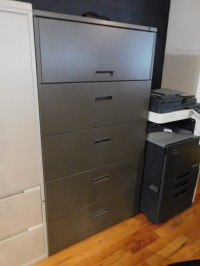 STEELCASE 5 DRAWER A GRADE LEGAL OR LETTER SIZE LATERAL ...