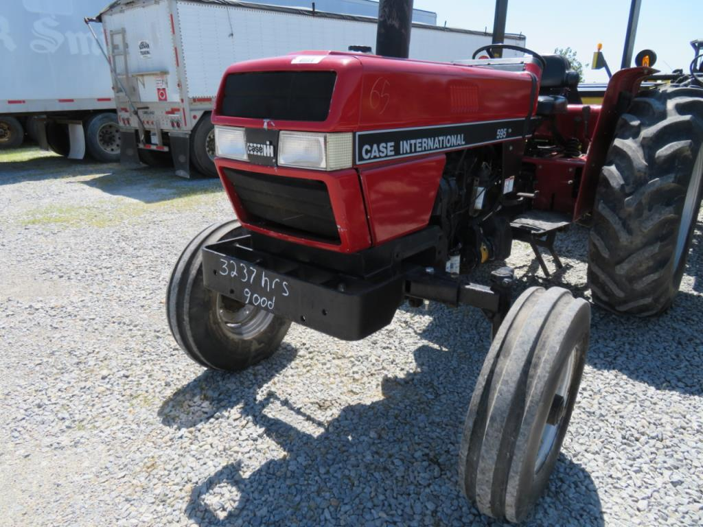 hight resolution of case ih 595 tractor 3 237 hourslot 65 case ih 595 tractor 3 237 hours