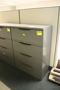 4-DRAWER LATERAL STEEL FILE CABINET