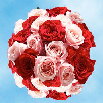 roses birthday flowers 50