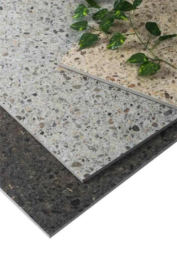 matt surface of glazed ceramic tile
