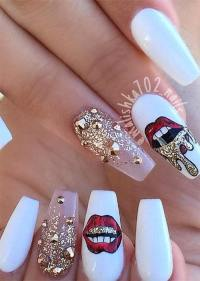 How to Do Acrylic Nails: 51 Cool Acrylic Nail Designs to ...