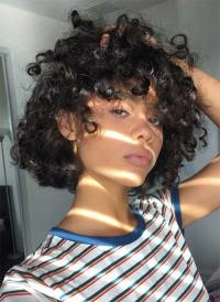 51 Lovely Short Curly Hairstyles: Tips for Healthy Short ...