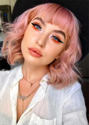 charming rose gold hair colors