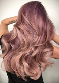 52 Charming Rose Gold Hair Colors: How to Get Rose Gold