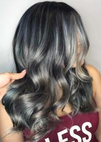 silver gray hair color shades silver hair trend 51 cool