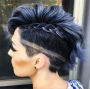 edgy and rad short undercut