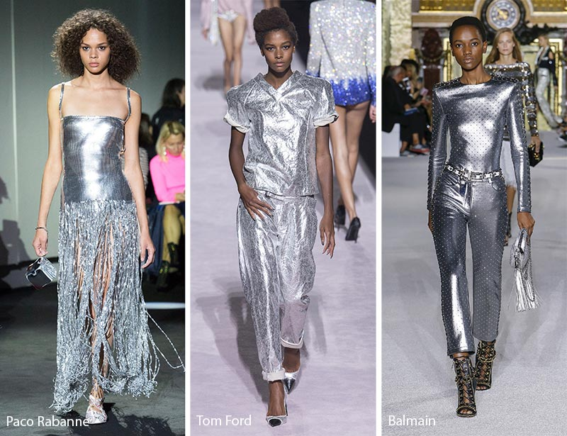 Spring/ Summer 2018 Color Trends: Bright Silver