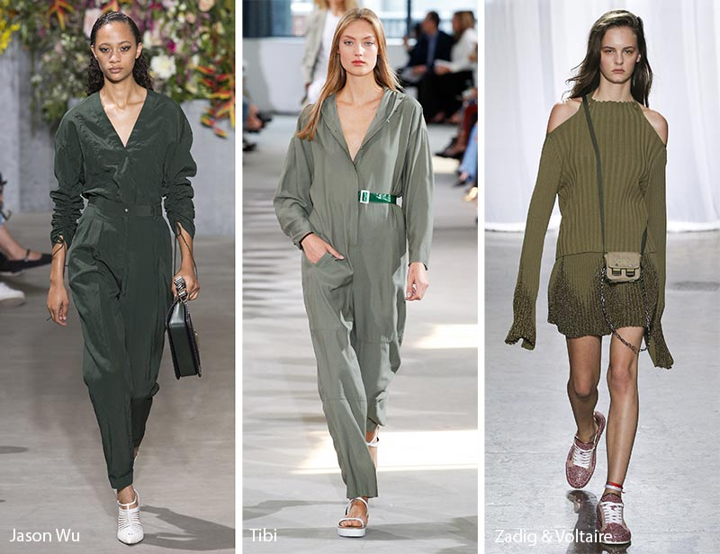 Spring/ Summer 2018 Color Trends: Military Green