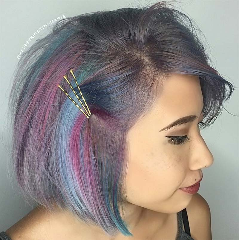 41 Exposed Bobby Pin Hairstyles How to Use Bobby Pins  Glowsly