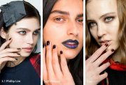 fall winter 2018-2019 nail trends
