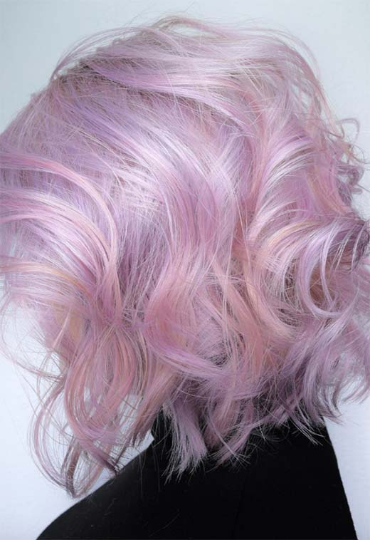 MotherofPearl Hair Trend 53 Iridescent Pearl Hair Colors to Dye for  Glowsly