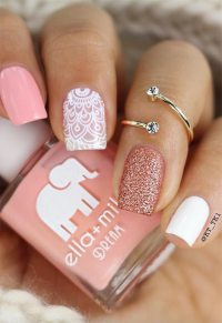 65 Awe-Inspiring Nail Designs for Short Nails - Short Nail ...