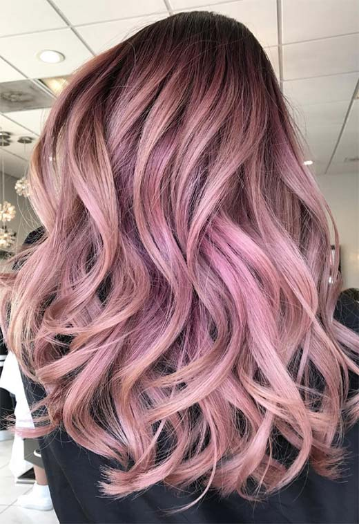 55 lovely pink hair