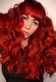 hot red hair color shades