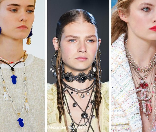 Spring Summer  Accessory Trends Spring  Jewelry Trends