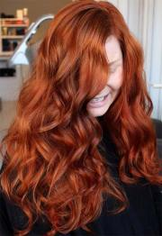 fancy ginger hair color shades