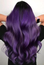 purple hair color ideas swoon