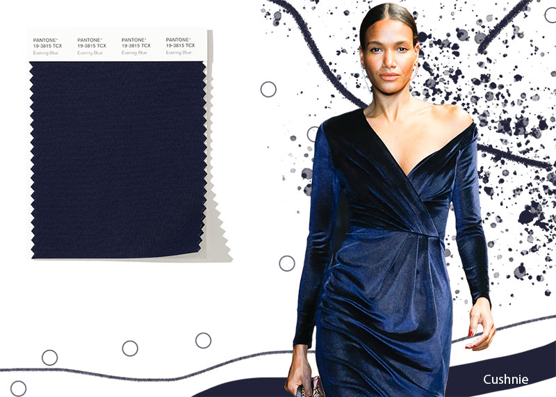 Image result for FASHION PANTONE evening blue