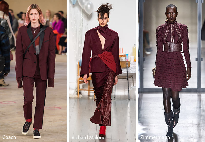 Fall/ Winter 2019-2020 Color Trends: Biking Red