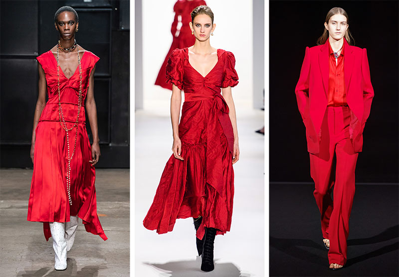 Fall/ Winter 2019-2020 Color Trends: Chili Pepper Red