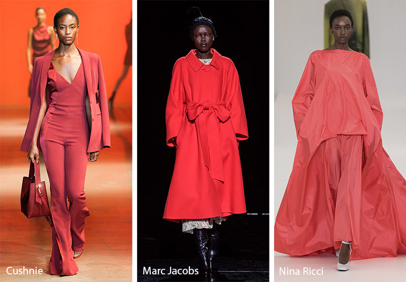 Fall/ Winter 2019-2020 Color Trends: Cranberry Red