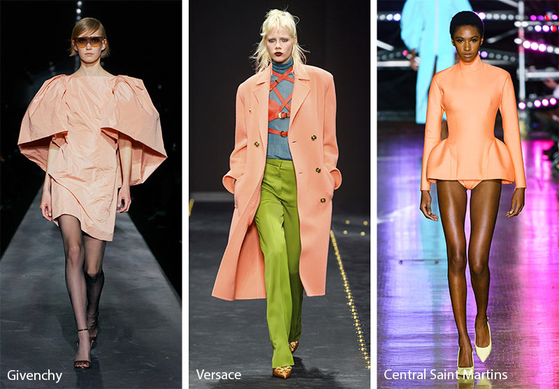 Fall/ Winter 2019-2020 Color Trends: Peach Pink
