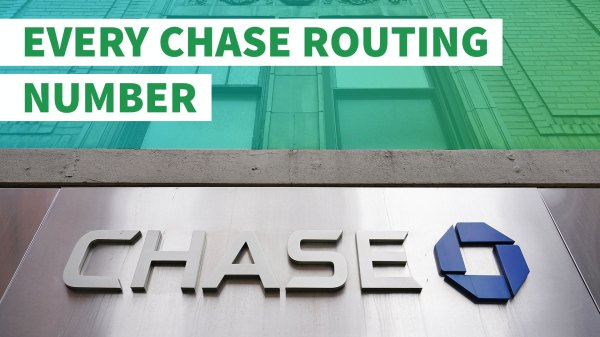 Chase Bank Check Routing Number