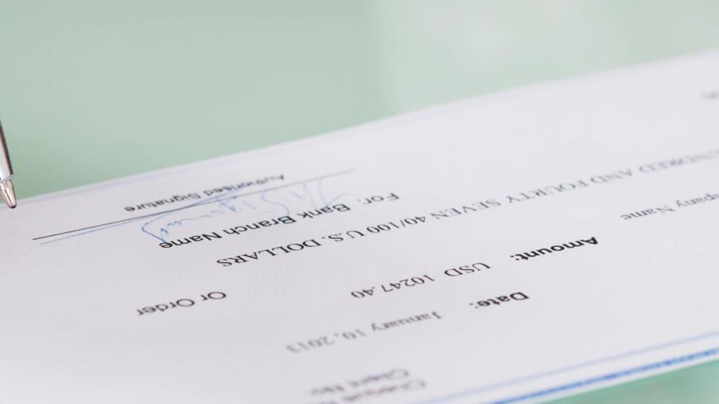 Bank Checks Vs Personal Checks