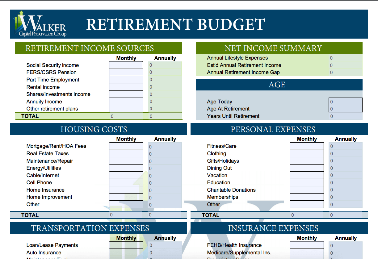 15 Easy To Use Free Budget Templates